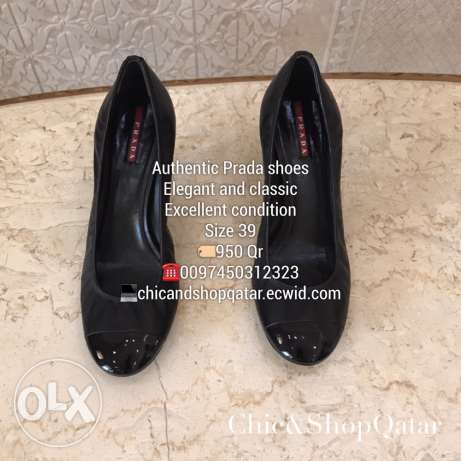 Authentic preowned Prada shoes