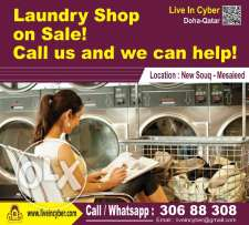 LIC 398_Laundry Shop on Sale! Call us and we can Help!_New Souq