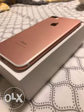 iphone 7 plus 256gb unlock with warranty rosegold100%full accessories
