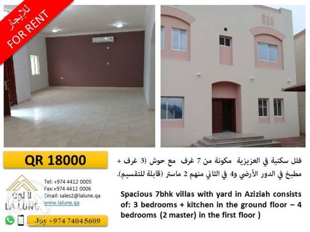 Compound Villa in AL Wakhra and aziziya