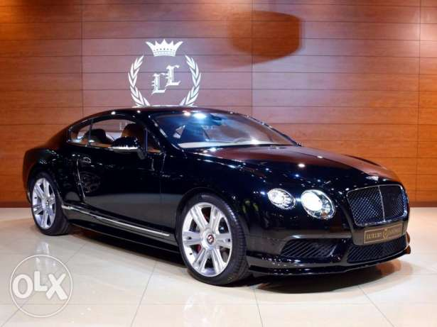 2015 Bentley Continental GT V8S, GCC Specs, Under warranty From Dealer