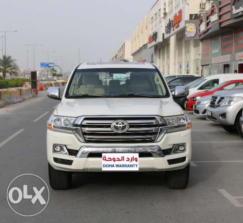 New Land Cruiser GXR V8 2017