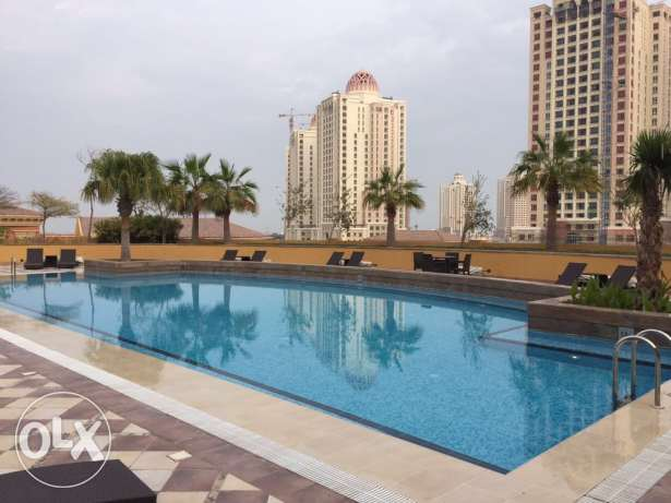 2 months free and Qatar cool , 2BR apartment, Pearl