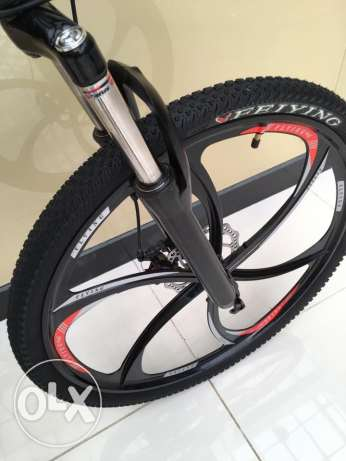 Folding bike with alloy wheel الريان -  2
