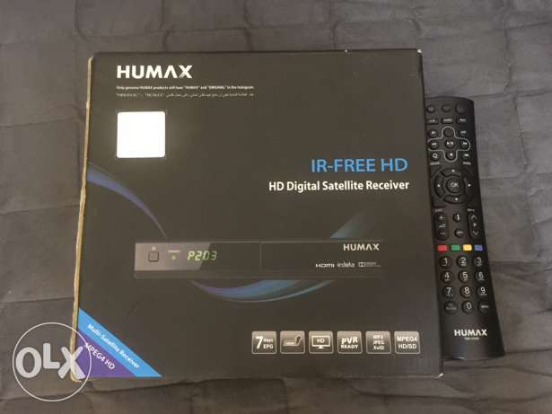 Tv and HD humax receiver good condition with box