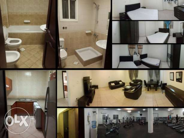 For Rent a Fully Furnished 4bhk Flat in Bin Mahmoud فريج بن محمود -  2