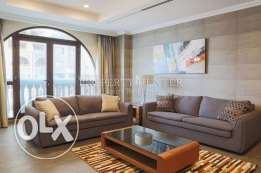 Furnished 1 + MR apartment in Developed Tower