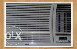 Lg window ac with remote for sale