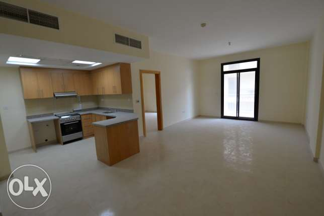 Brand New spacious unfurnished 1BD apartment with open kitchen & balco
