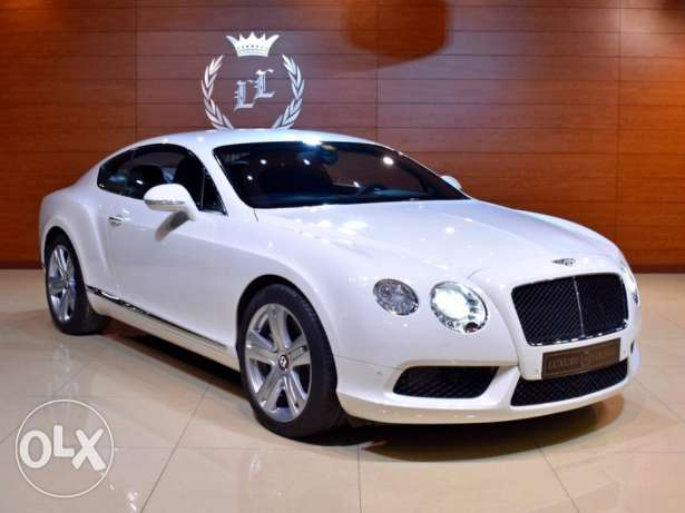 2014 Bentley Continantal GT Mulliner V-8, GCC Specs