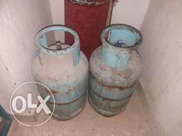 ACs and metal 2 nombets gas cylender for sale