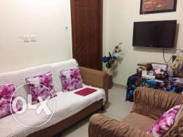 Fully Furnished 1 BHK for small family-Al Gharaffa
