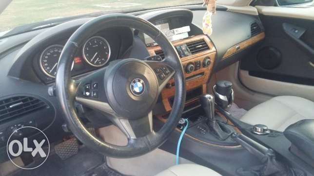 BMW 6 Series 2007 in very good condition for sale أبو هامور -  5