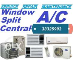 I do kinds of ac fixing services