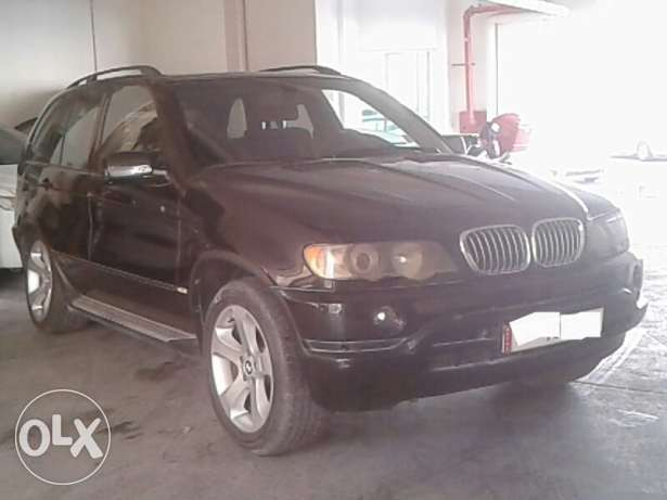 BMW X5 4.4i Very lowest price being offered - Expat Leaving Qatar