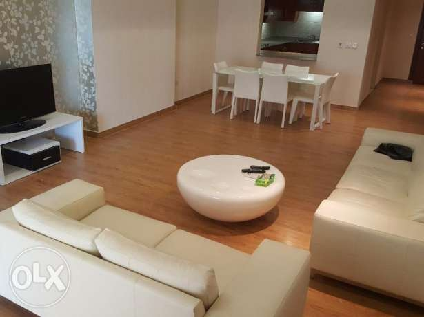 Gorgeous 1br fully furnished + month free الؤلؤة -قطر -  2