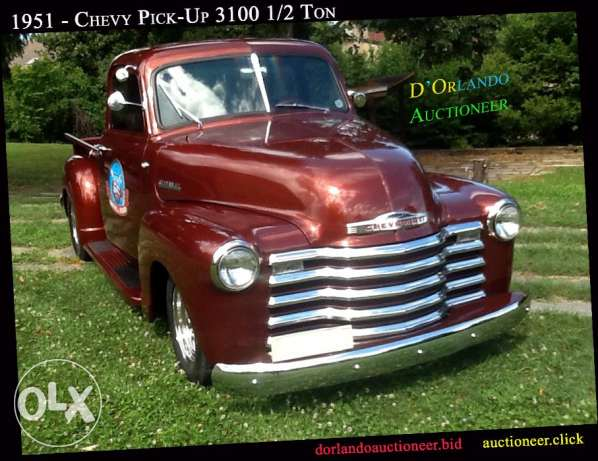 1951 - Chevy Pick-Up 3100 1/2 Ton