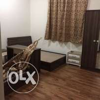 3-Bedrooms Semi Furnished 3-BHk Flat in Bin Mahmoud-Balcony