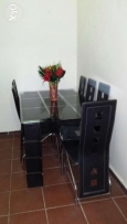 6 chair dining table for sale