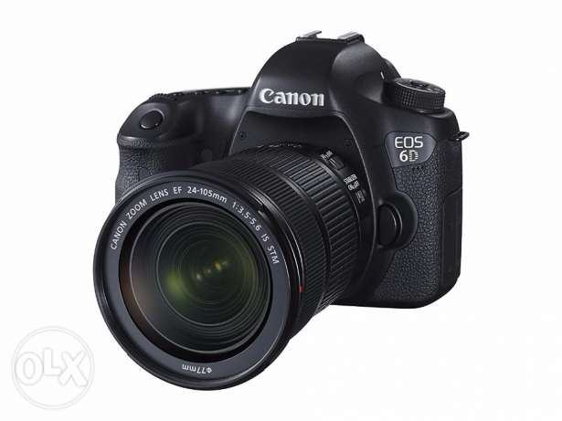 Canon 6D 20.2 MP with two lenses