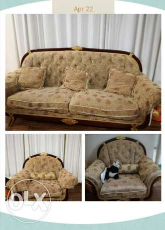 Sofa and Wardrobe for urgent sale