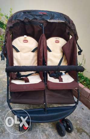 double and twin stroller ( baby shop)