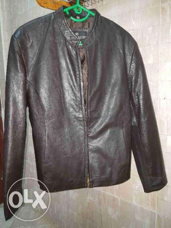 Original leather jacket for ladies size M
