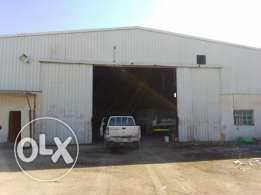 600 sqmr warehouse with open space for rent