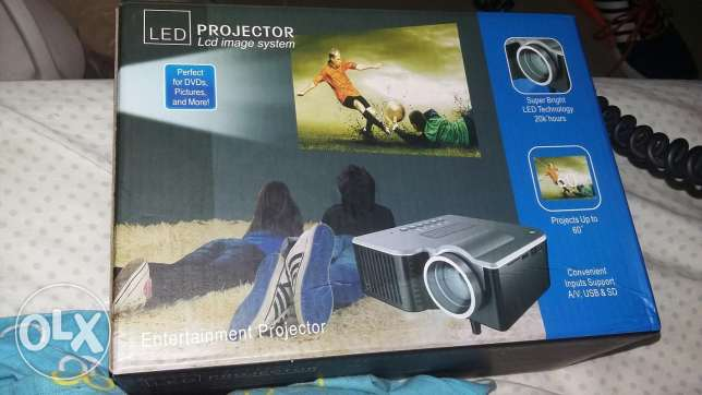 Led lcd image system projector