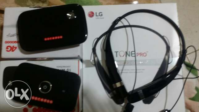 2 wifi device and lg wireless stereo headset for sale urgent