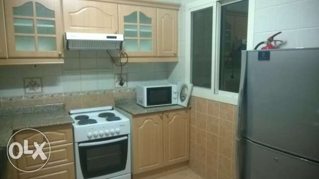 Two bedrooms fully furnished appartments old airport one month free