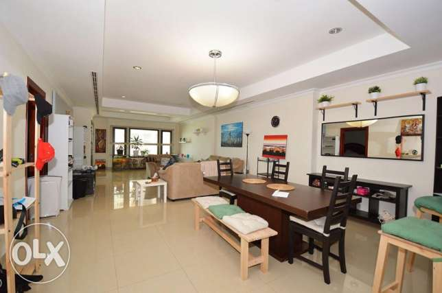 Furnished 1 Bed Home with Various Lovely Views الؤلؤة -قطر -  2