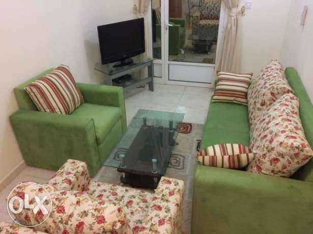 For rent furnished apartment near the Corniche in Umm Ghuilina