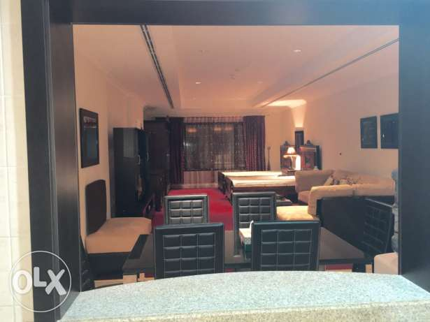 Cute studio fully furnished in The Pearl . الؤلؤة -قطر -  4