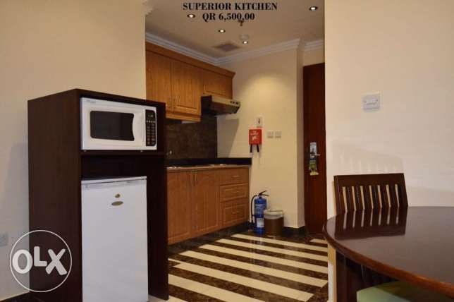 FF 1-Bhk Flat in Musherib+Daily House Keeping,Gym,Pool,Spa,Sauna المشيرب -  4