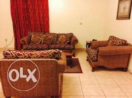 for family nice full furnished 2 bhk apartment in al sadd