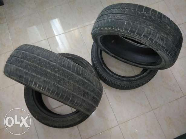 4 Hankook tires for 250QR / from KIA Picanto