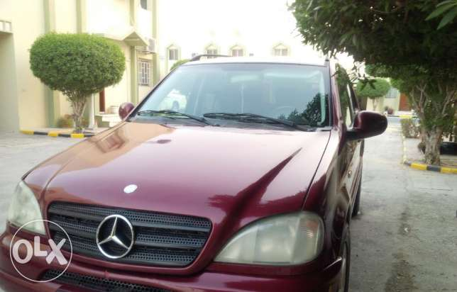 ML Mercedes for sale or swape with saloon or small 4*4