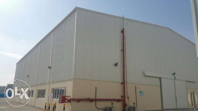 MESWH - Brand New Warehouses for Rent in Mesaieed