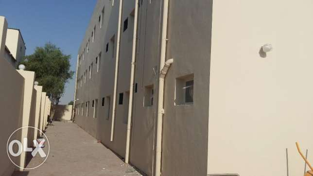 12 Rooms for rent at Doha industrial area