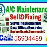 Ac sale & servicing