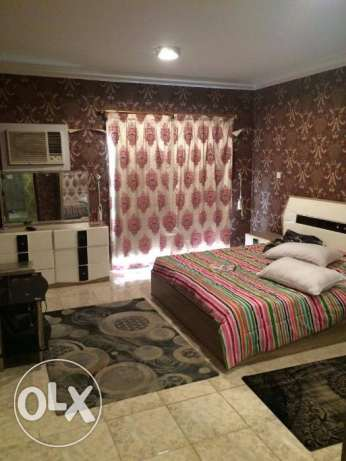 fully furnished 1 bhk flat in bin mahmoud included water and electrici