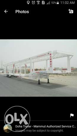 doha trailer - mammut authorized service center in qatar ماموت قطر