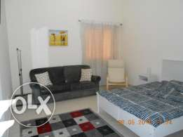 Fully furnished master bedroom with en-suite bath to rent out 3200.-QR