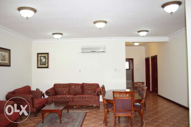 Semi furnished 3 bhk in old airport area (al rawda)