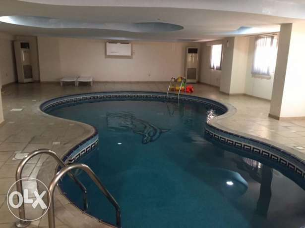 Unfurnished 2-BEDROOMS Clean Flat in AL Sadd-Pool