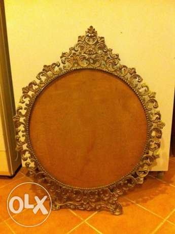 Antique Mirror/Photo Frame