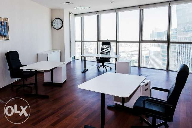 Cost Effective Furnished Office/License in FG Business Center الخليج الغربي -  4