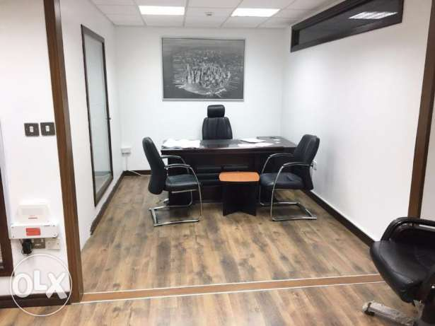 Fully Furnished, 30Sqm 1 Room Office AT -Corniche-