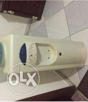 Hot&cold water dispenser with fridge